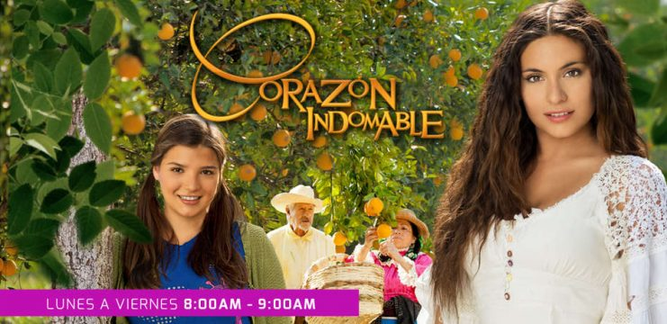 Corazon Indomable (Wild at Heart) telenovela: currently topping world charts