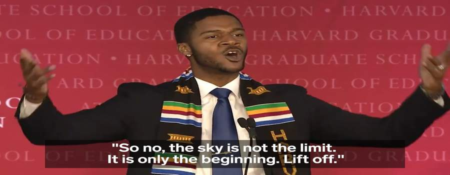 A Harvard Grad's Powerful Speech Went Viral For All the Right Reasons