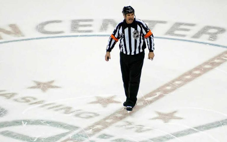 Highest-Paid NHL Referees - Average Salary of an NHL Referee