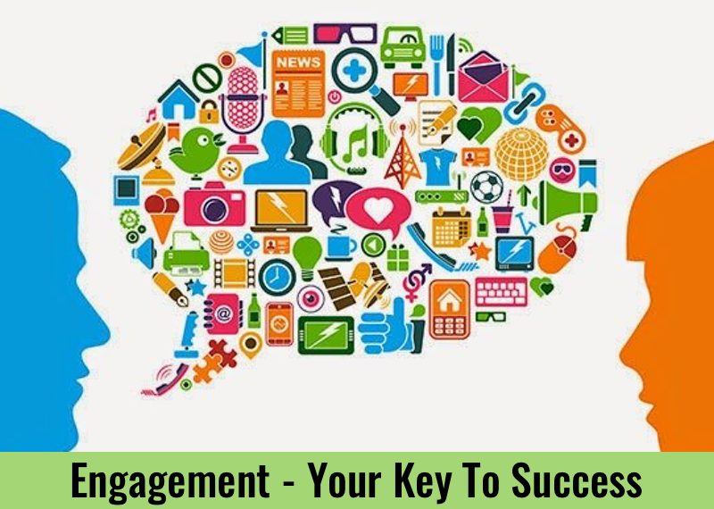 Engagement – The Key To Your Future Success