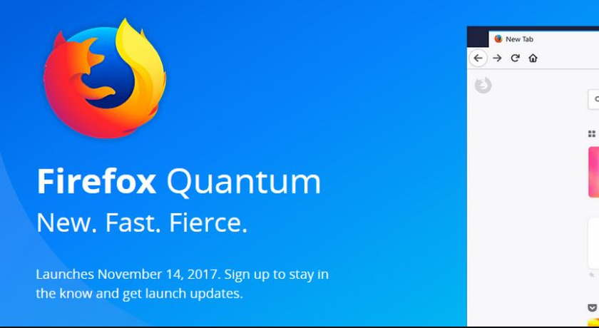 """Mozilla's new Firefox quantum browser is """" faster than Chrome """""""