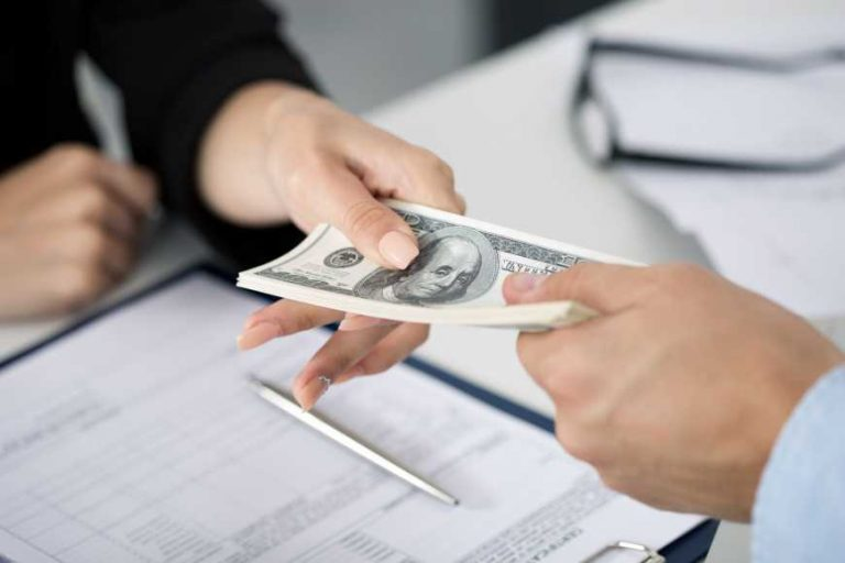 short term loan handing out