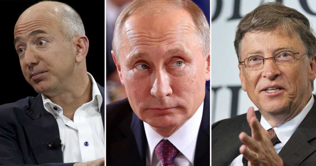 Vladimir Putin Possibly The Richest Person Alive