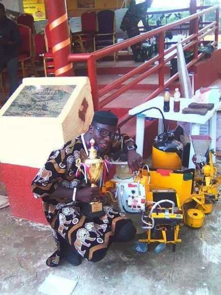 Made in #Nigeria an electricity generator that is powered by water