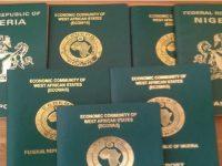 Nigerian international passports