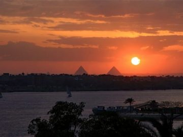 cairo nile sunset 190c47908133