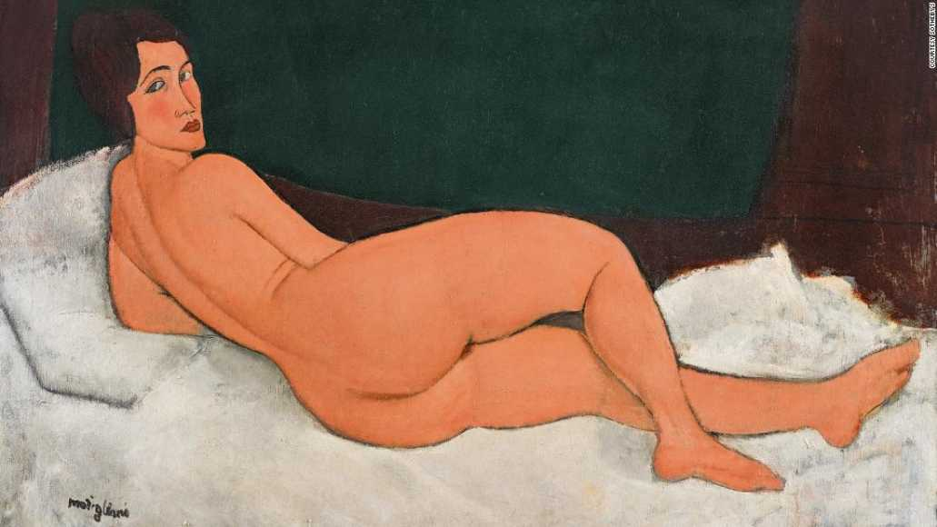 Controversial Nude Painting Worth Millions Breaks Auction Record
