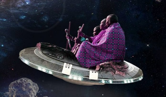 Maasai People in Space: A Fictitious, Thought-Provoking Image Collection by Kenyan Artist