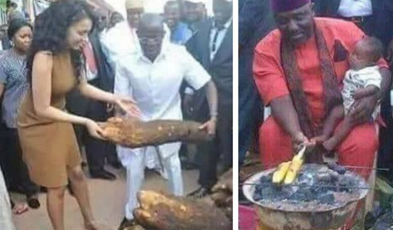 Outrageously hypocritical things African politicians do when elections are near [Photos]